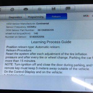 Датчики давления в шинах BMW 36106881890