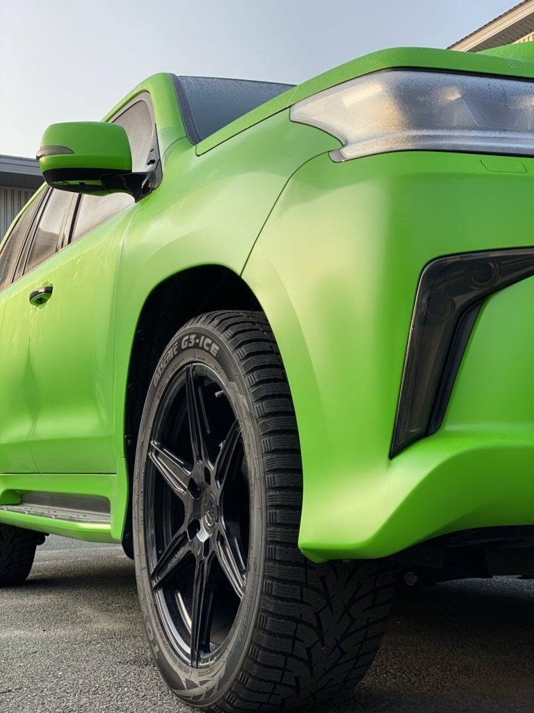 Диски Lexus LX570 R22