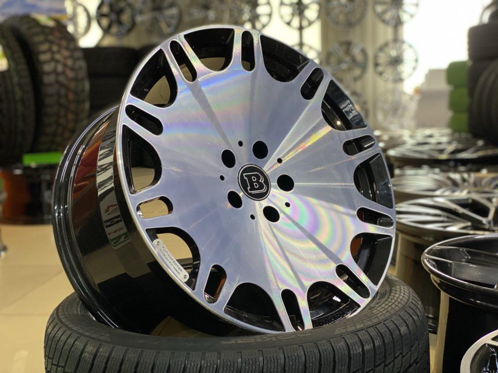 Кованые диски Brabus Mercedes G63