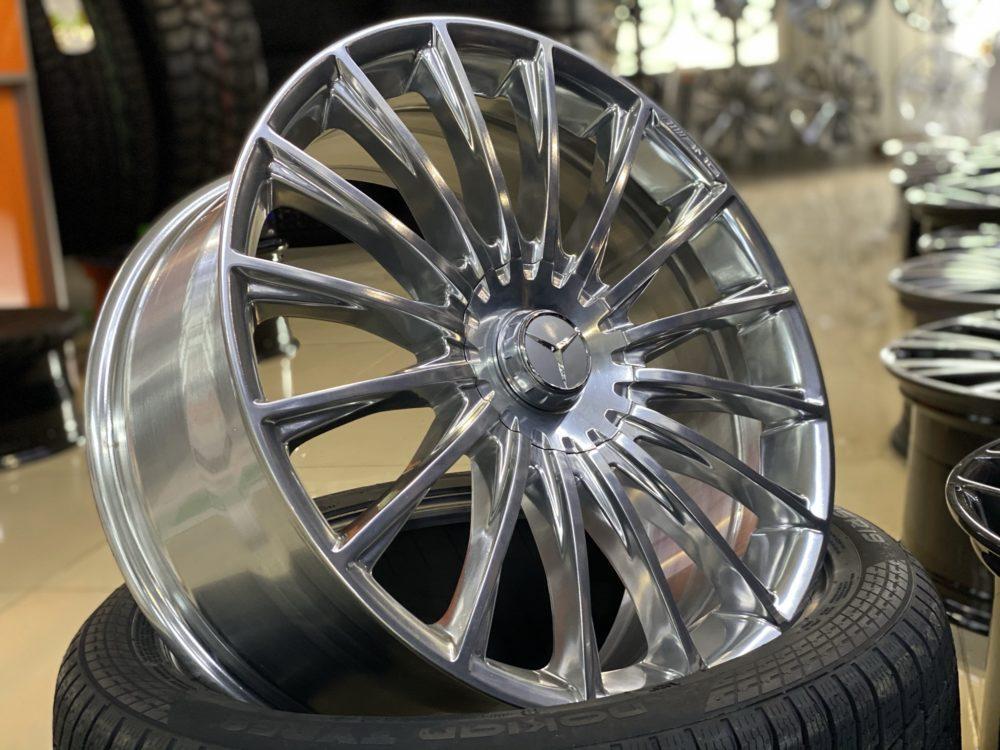 Кованые диски Mercedes W222 AMG