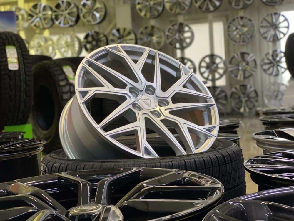 Заказать Кованые диски range rover sport, Land Rover
