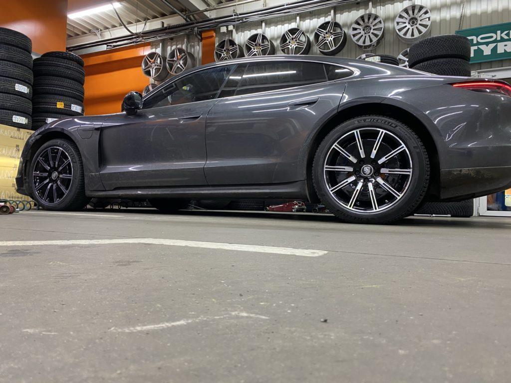 Кованые диски Porsche Taycan