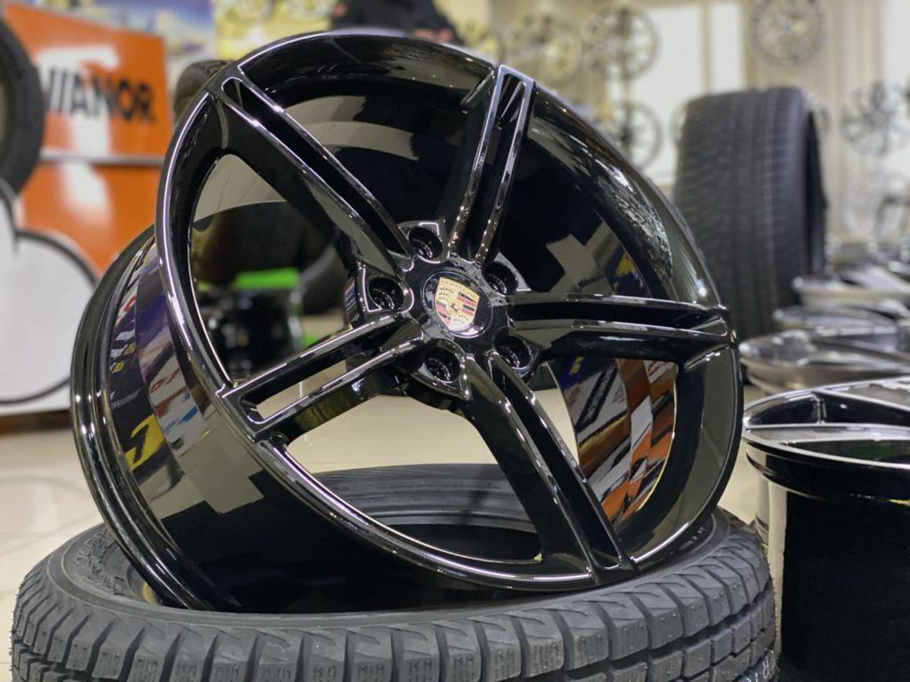 Кованые диски Porsche Taycan Turbo