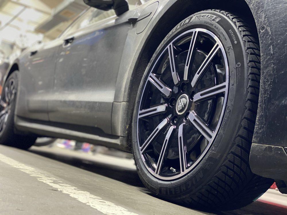 Кованые диски Porsche Taycan Turbo R20