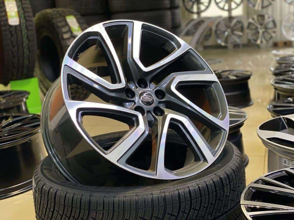 Кованые диски range rover Land Rover