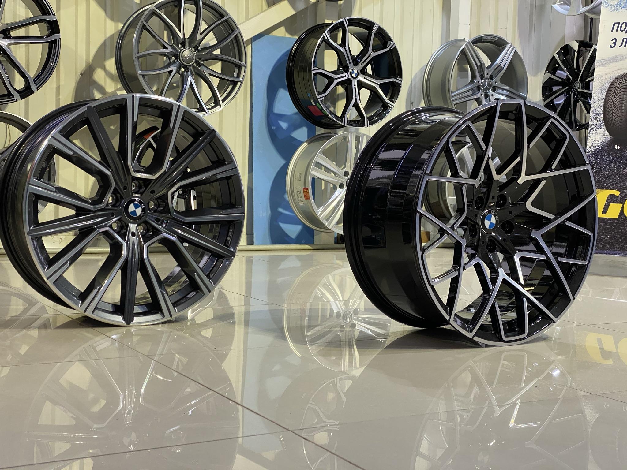 Кованые диски BMW 7