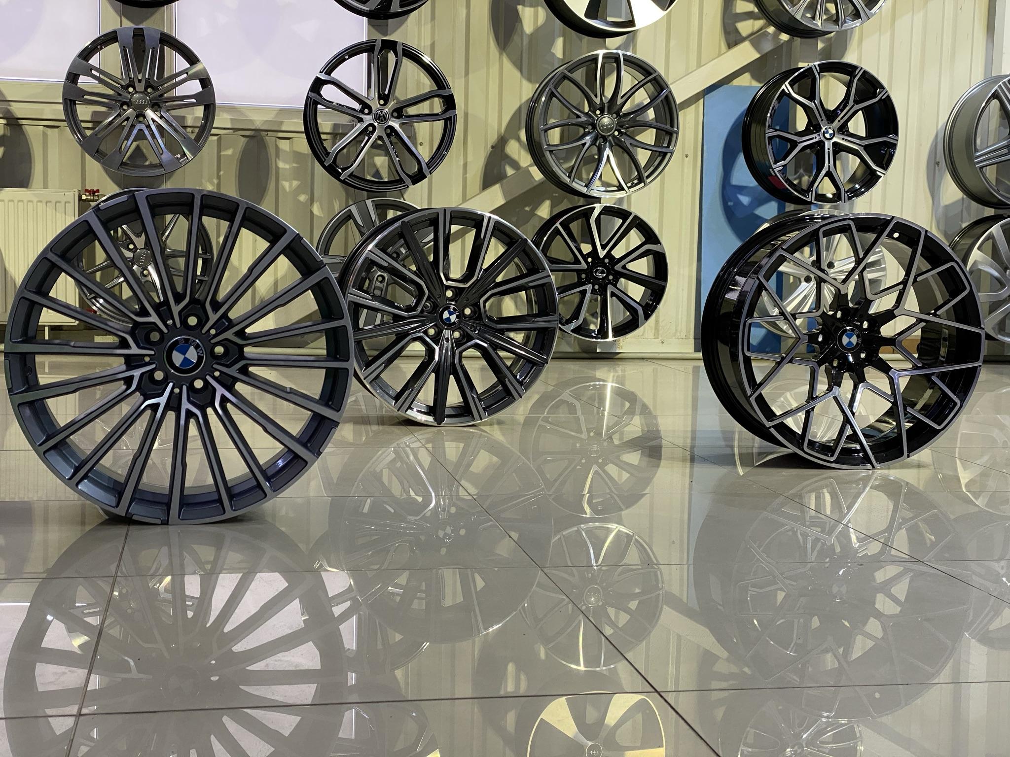 Кованые диски BMW 7 в Украине