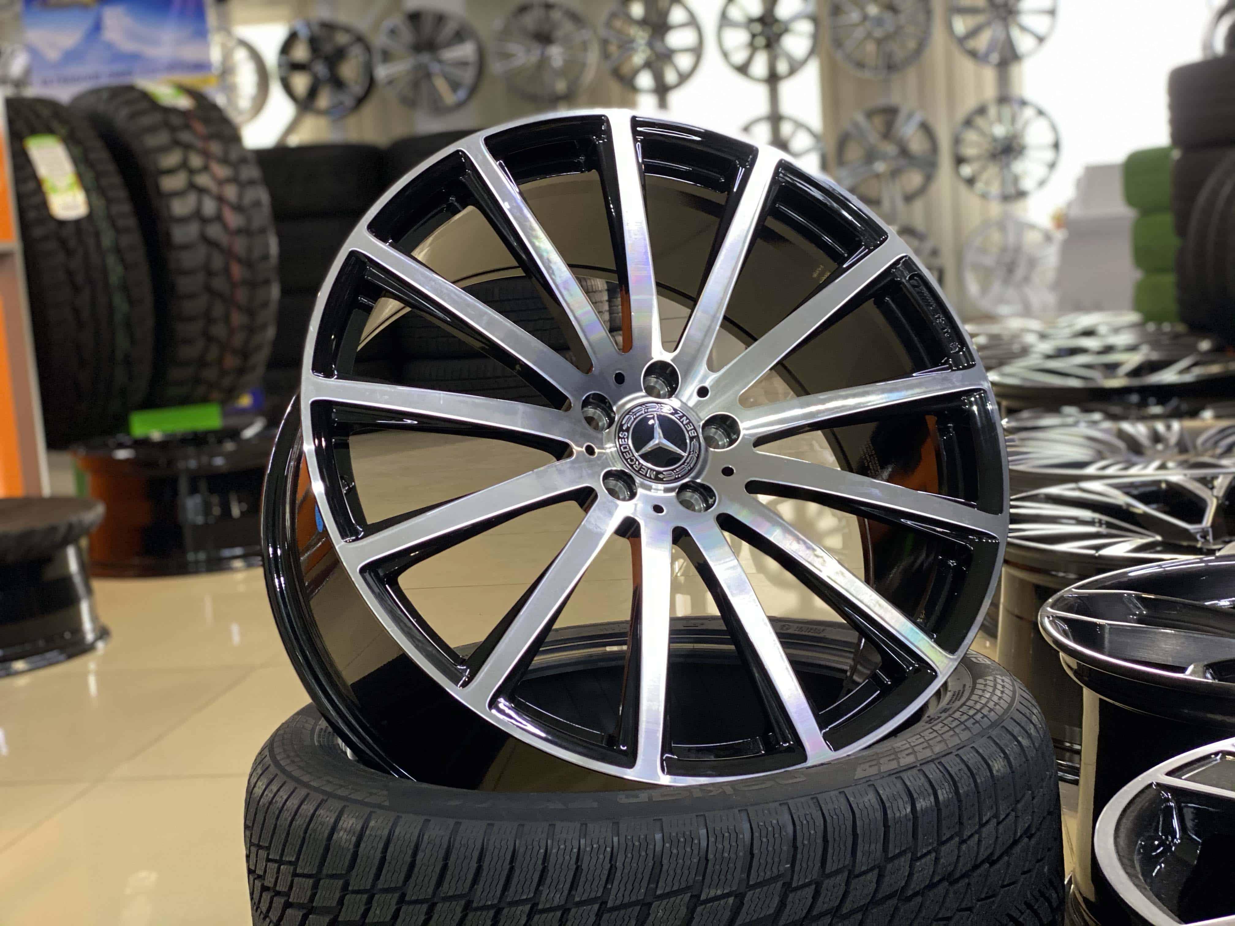 Кованые диски Mercedes-Benz GLS AMG R22