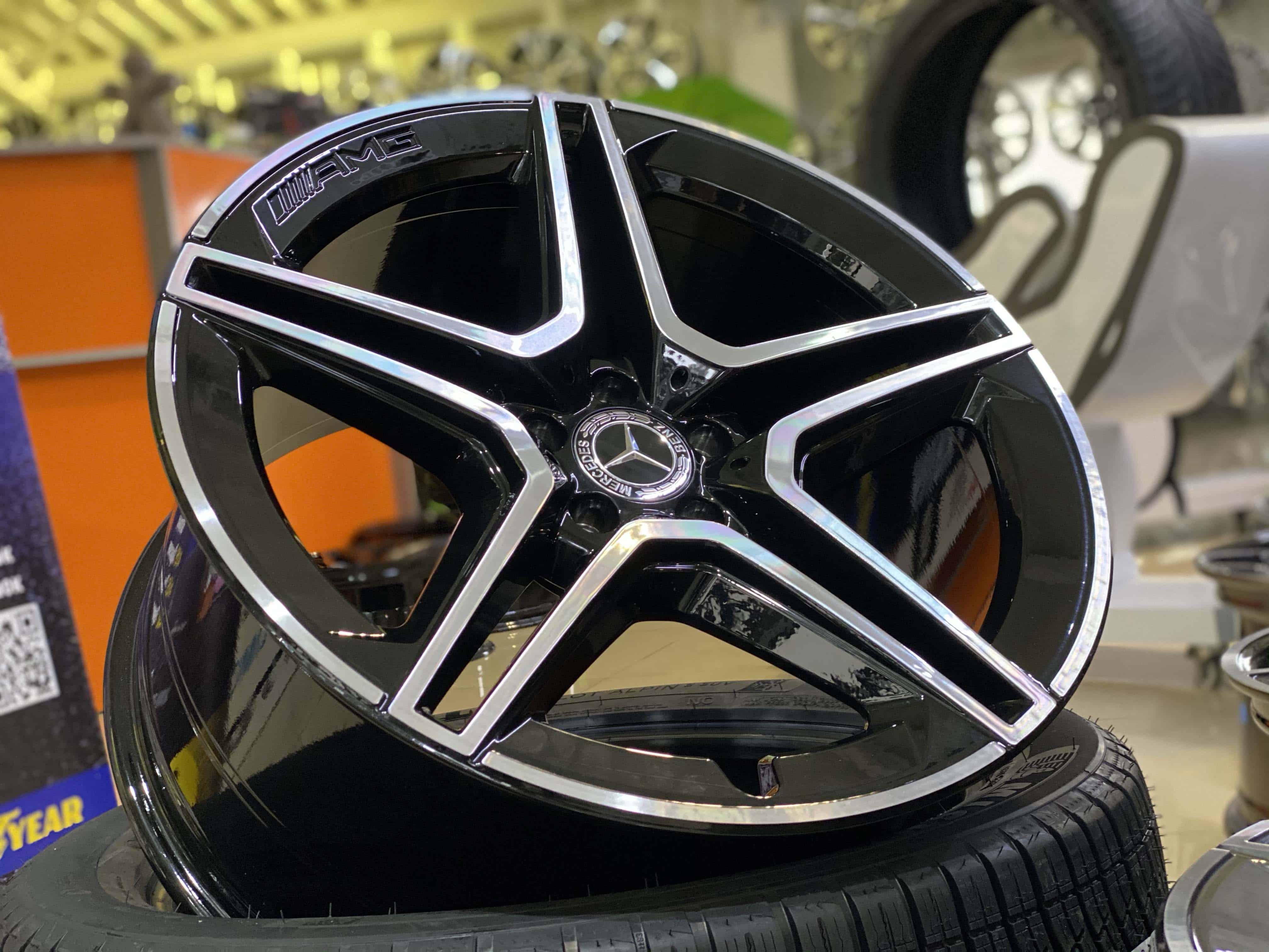 Кованые диски Mercedes-Benz GLS W167 AMG