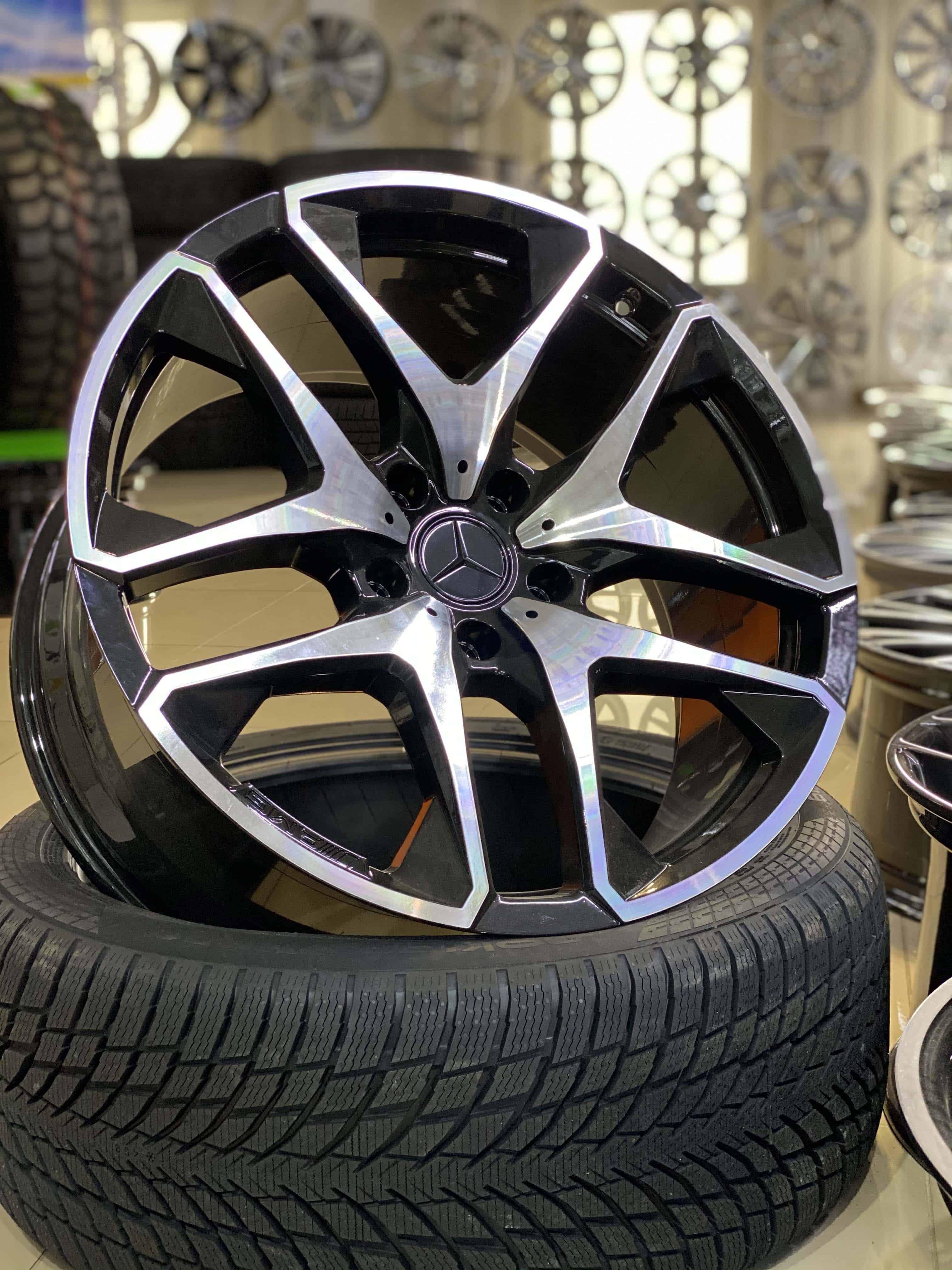 Кованые диски Mercedes GLE, GLS AMG