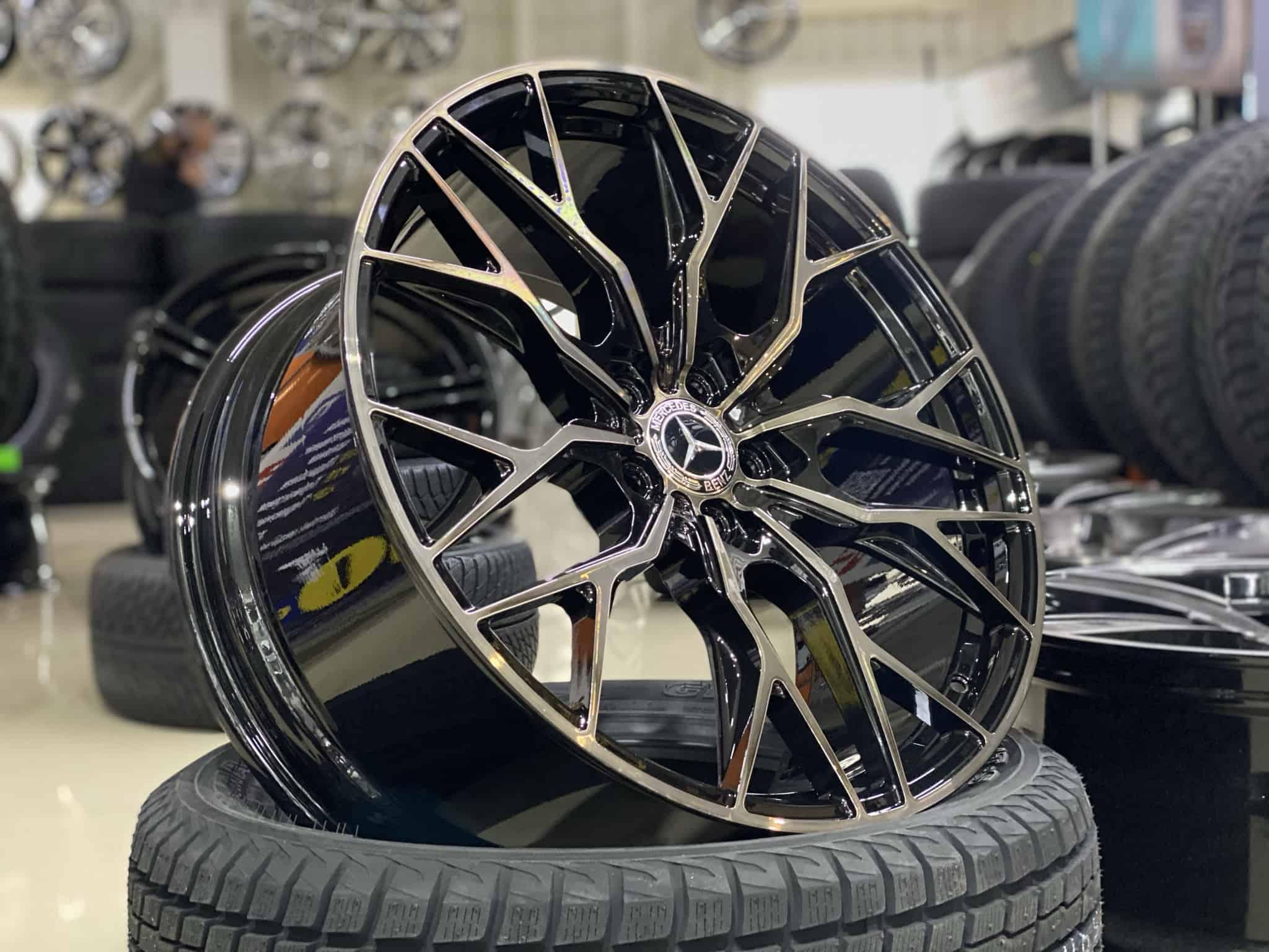 под заказ Кованые диски Mercedes-Benz GLS AMG