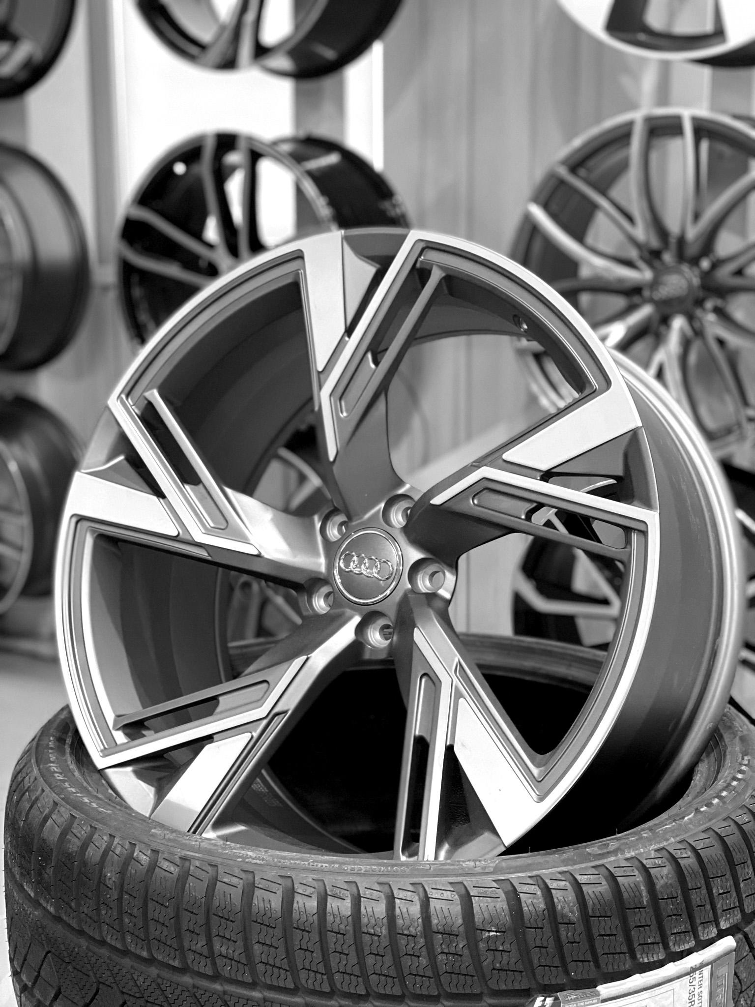 Кованые диски Audi RS6, RS7