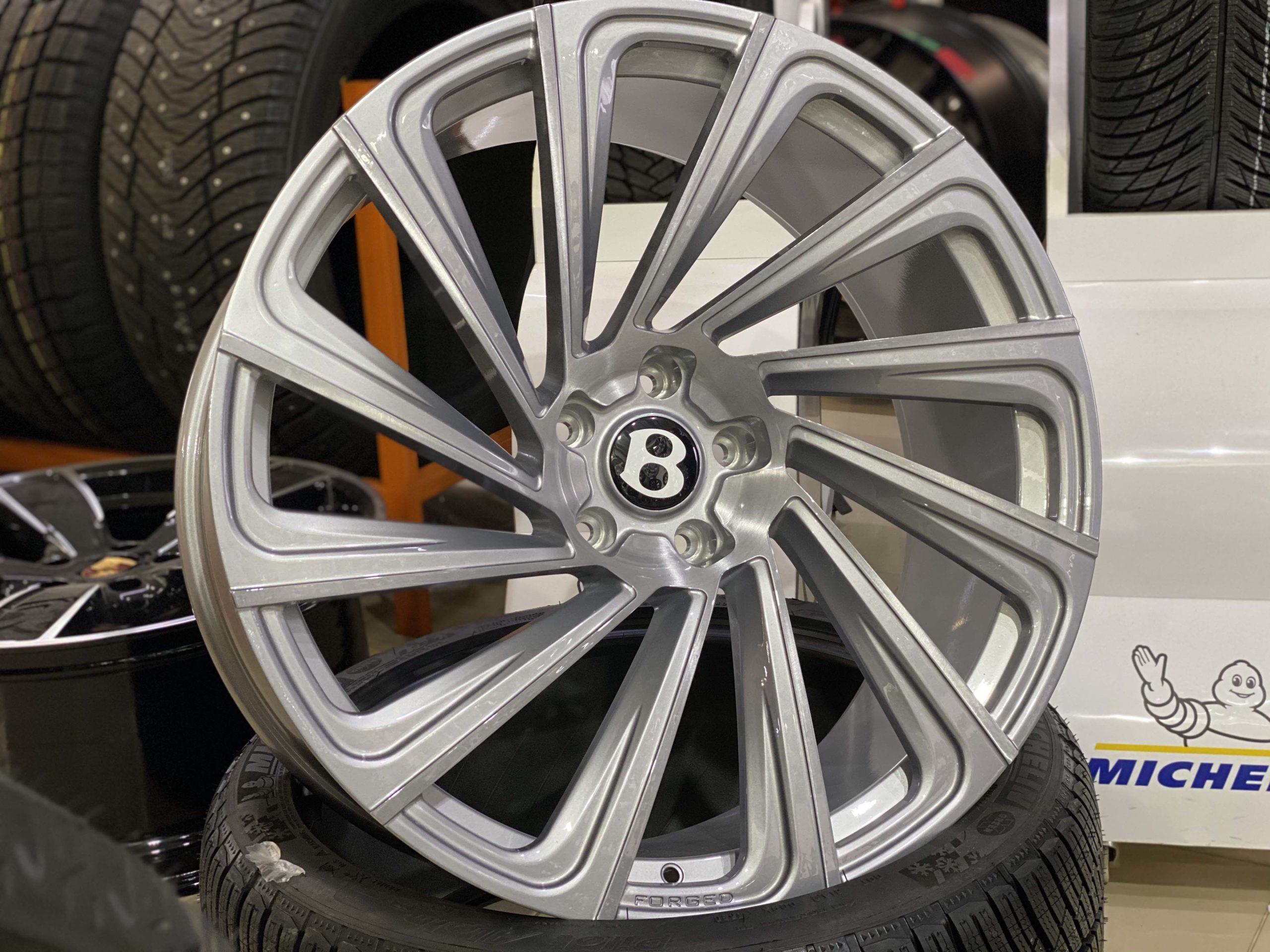 Кованые диски Bentley Bentayga, Continental gt