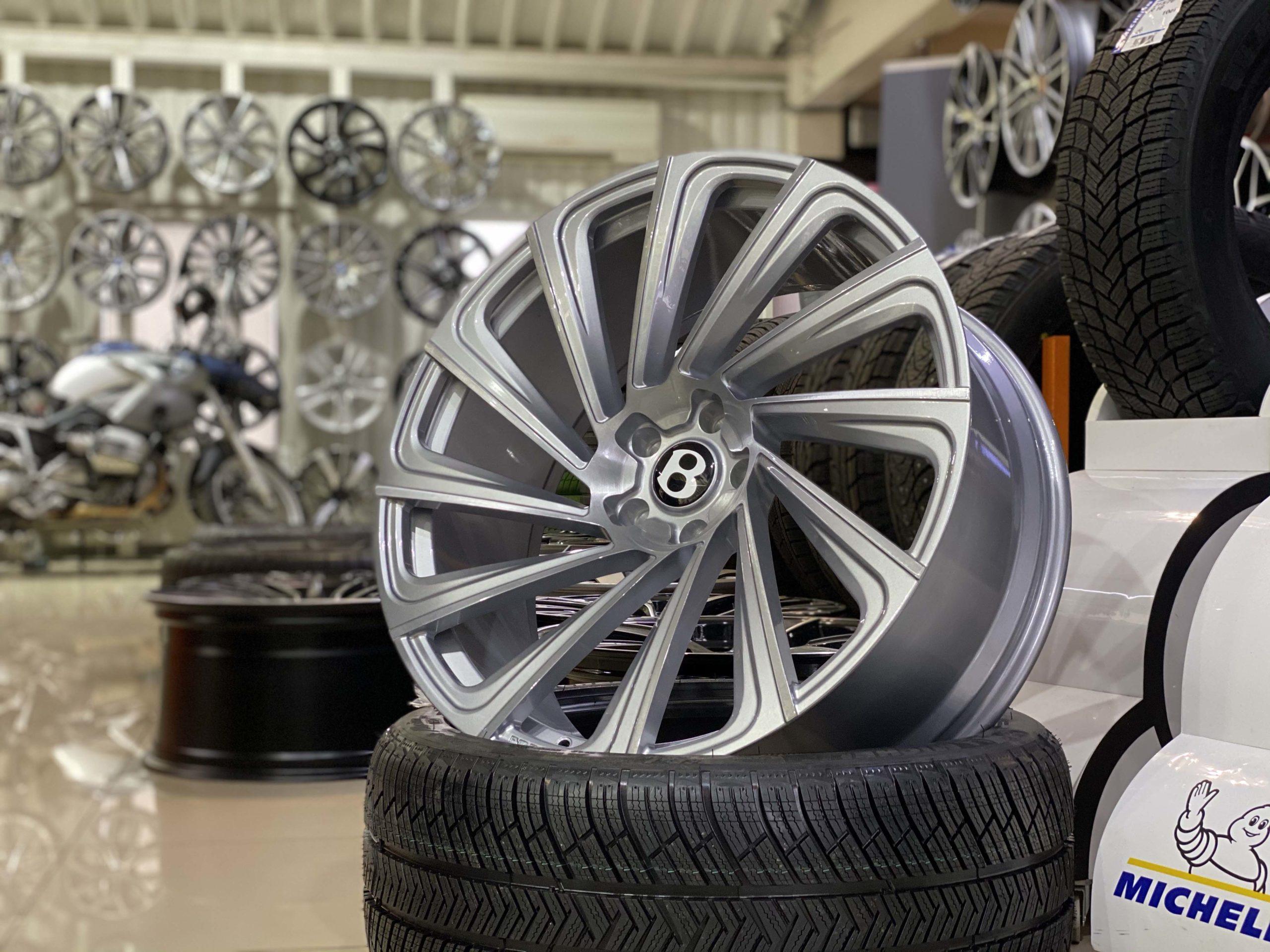 Кованые диски Bentley Bentayga
