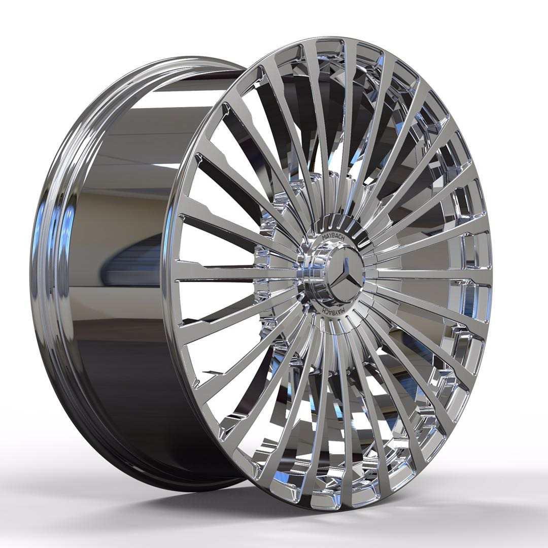 Кованые диски Mercedes Maybach gls 600 под заказ