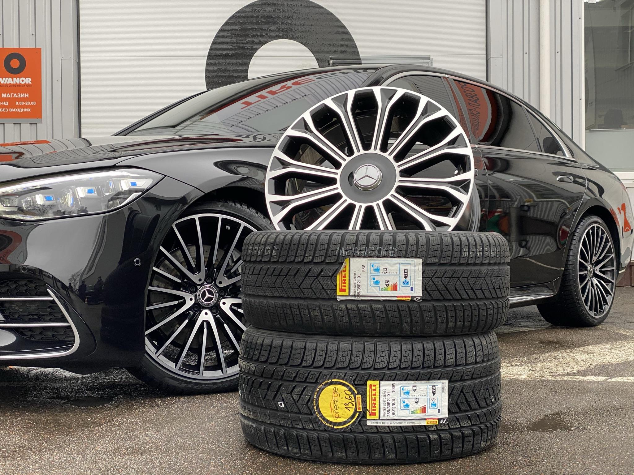 Кованые диски Mercedes S-class W223 AMG