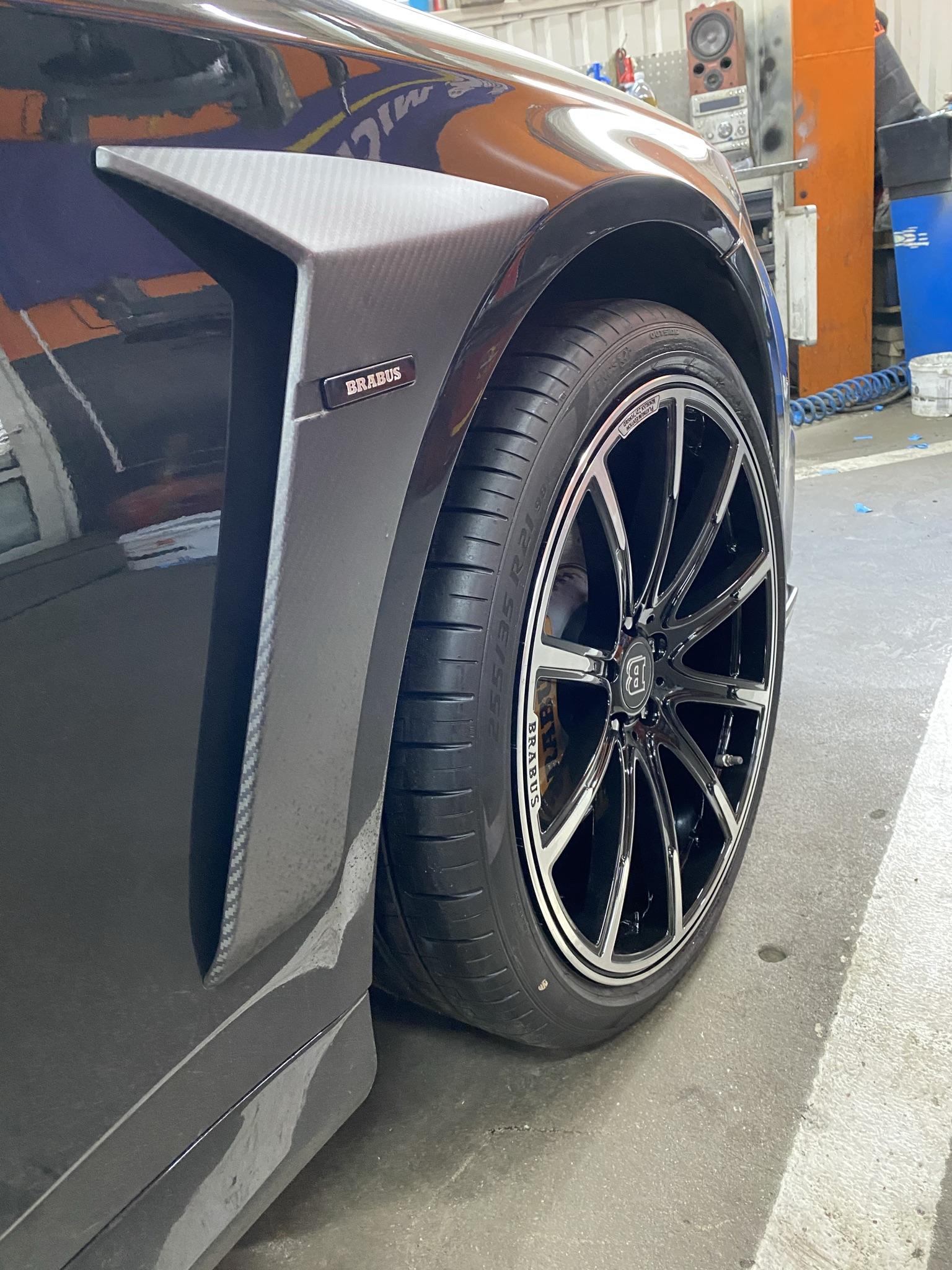 Brabus Monoblock Z Platinum Edition Mercedes