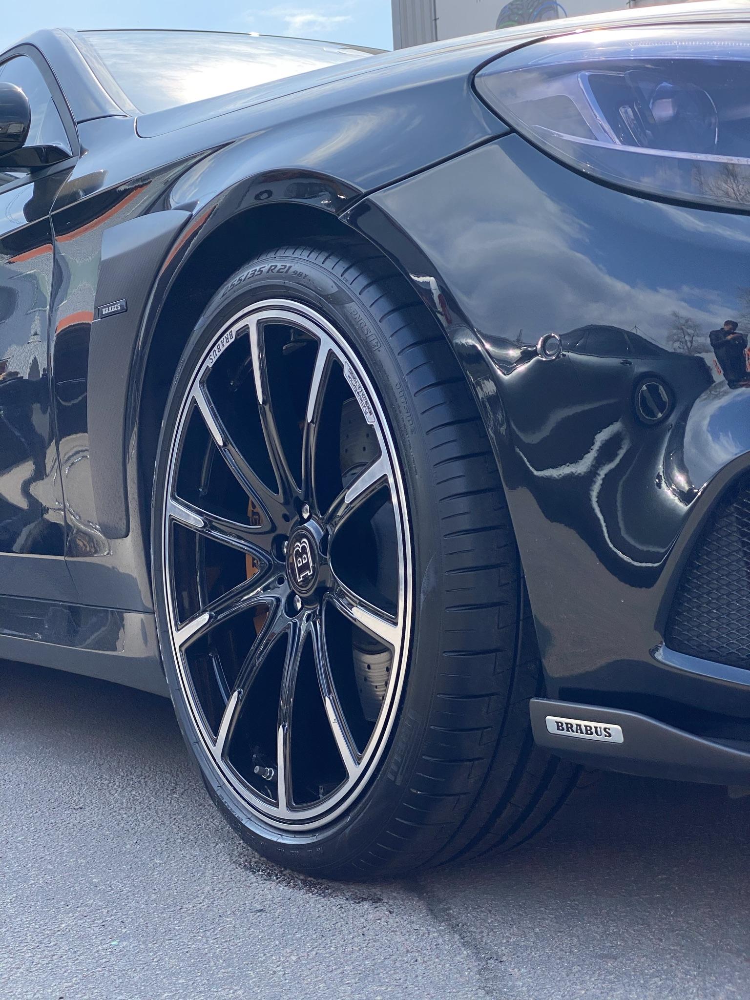 Диски Brabus Mercedes W222