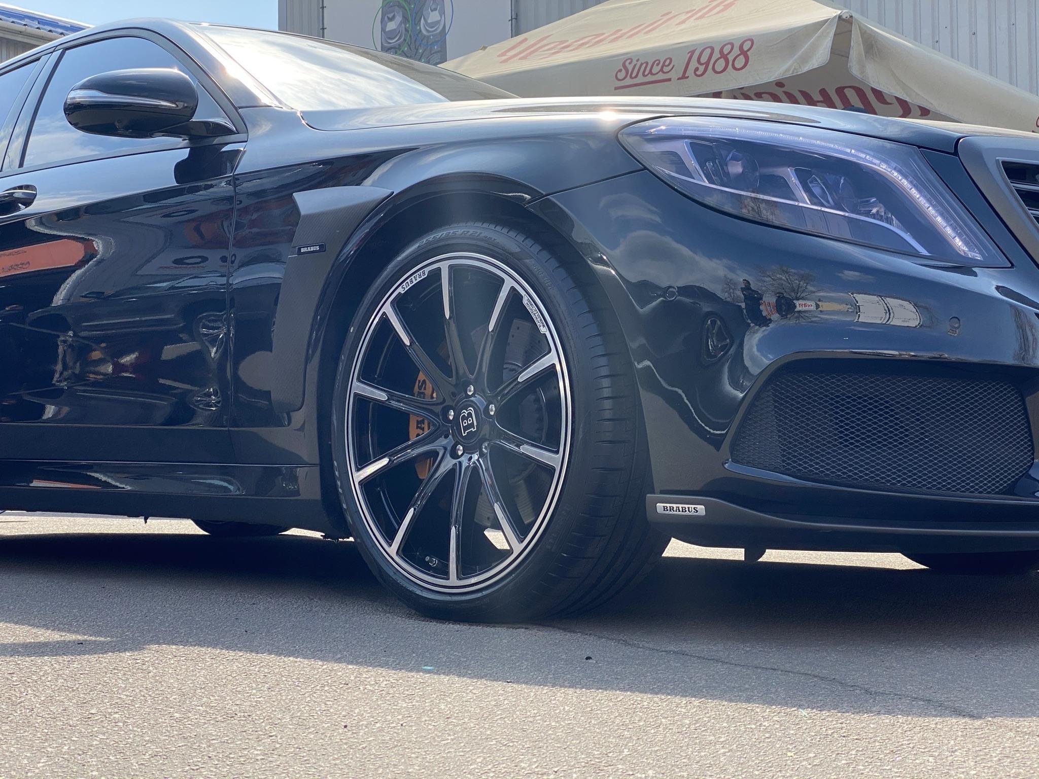 Кованые диски Brabus Mercedes W222 Monoblock Z Platinum Edition