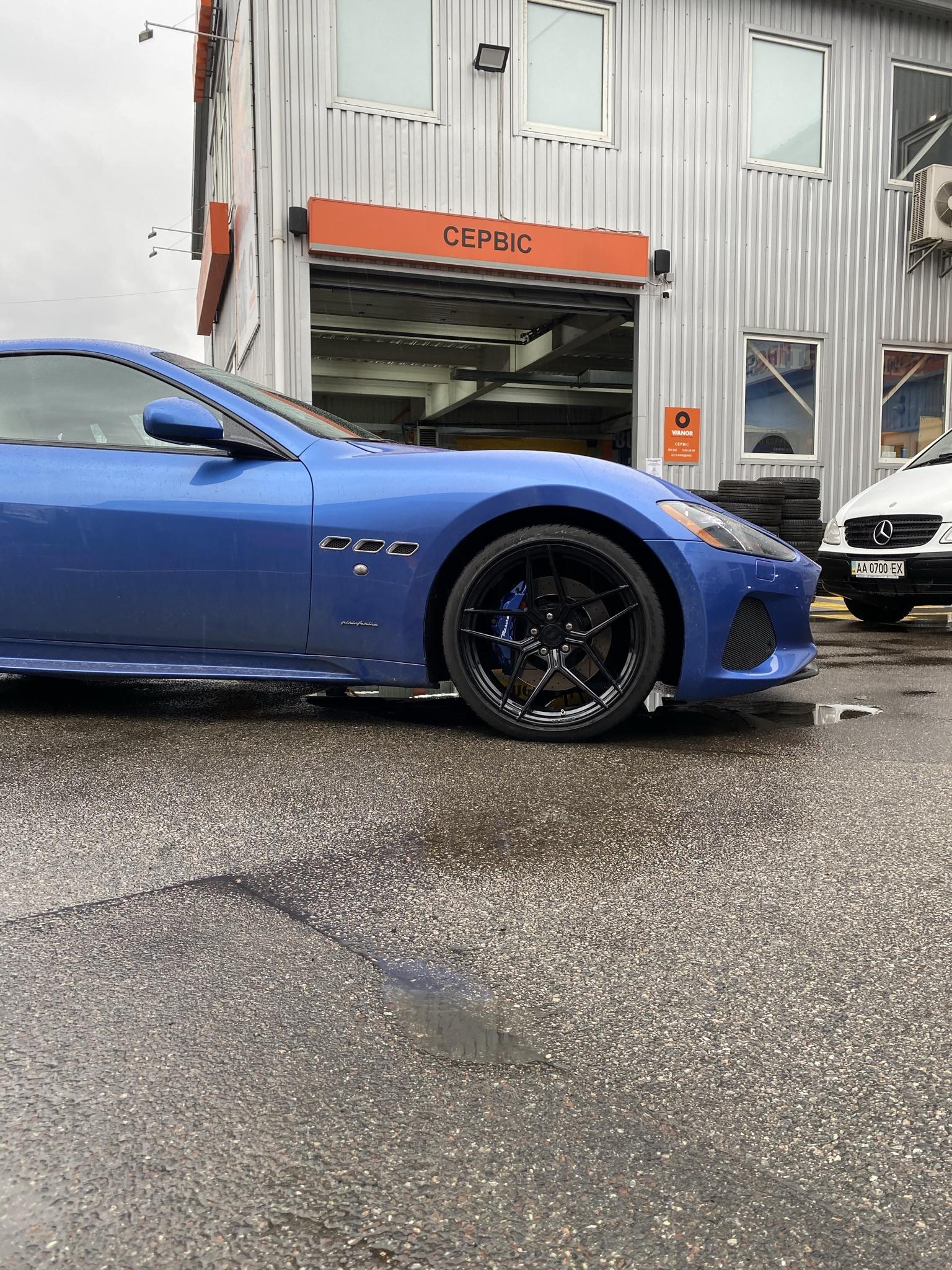 Кованые диски Maserati в Украине