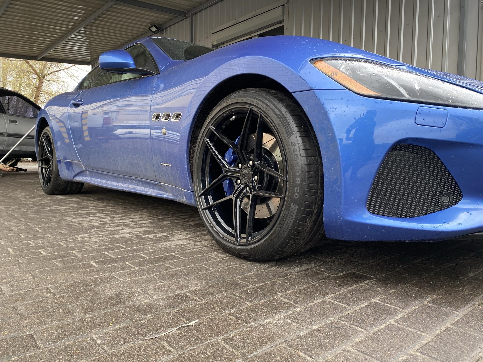 Кованые диски Maserati