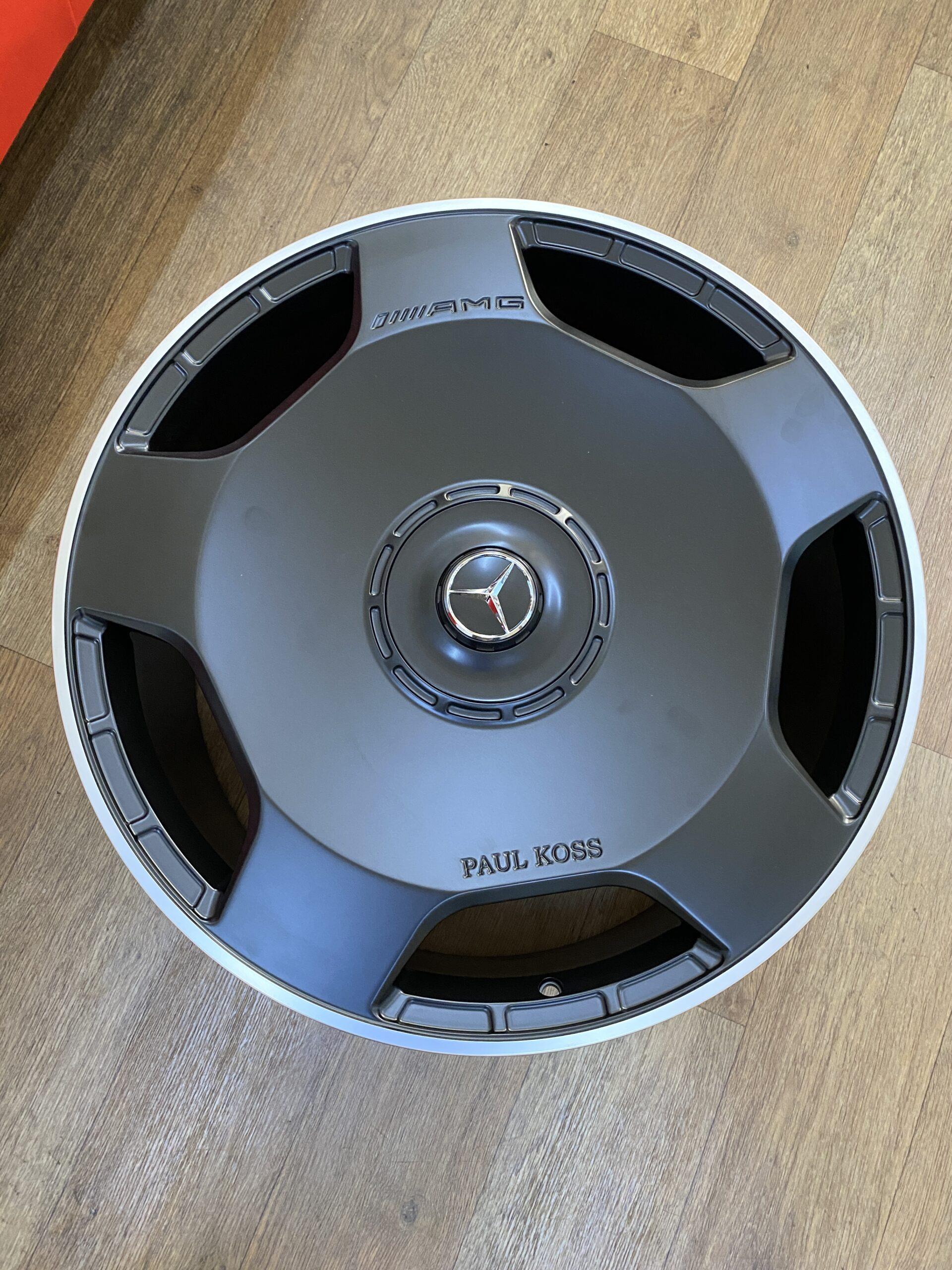кованые диски под заказ mercedes benz gls 63 amg