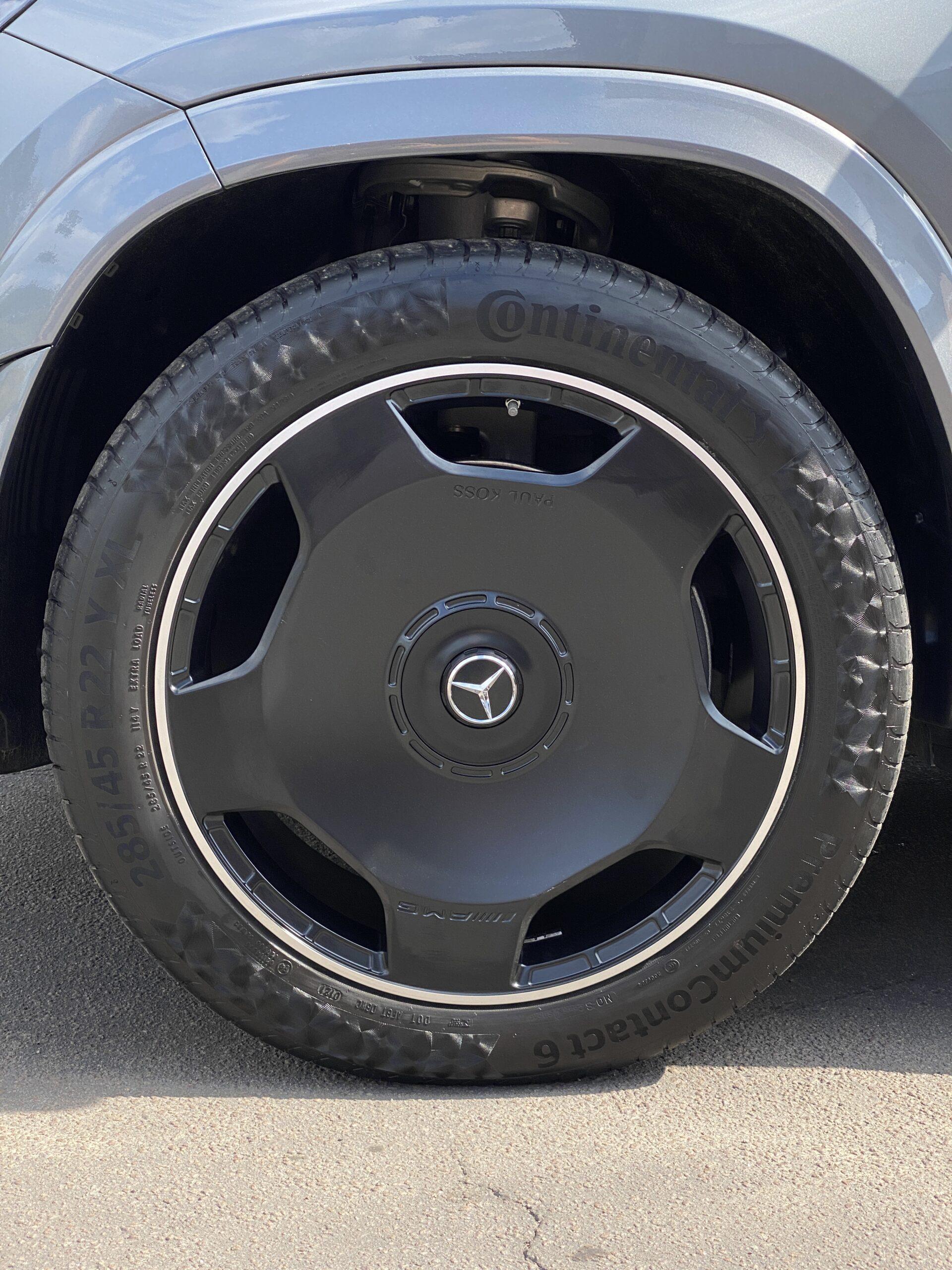 Кованые диски mercedes benz gls 167 amg