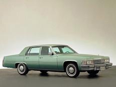 Фото Cadillac DeVille 1977