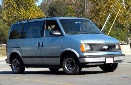 Фото Chevrolet Astro 1993