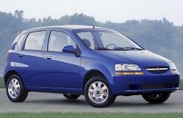 Фото Chevrolet Aveo 2004