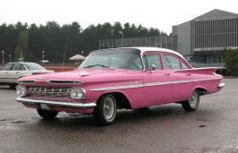Фото Chevrolet Bel Air 1959