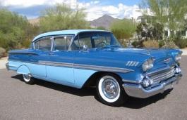 Фото Chevrolet Biscayne 1958