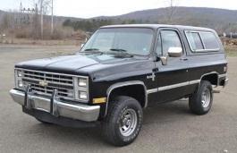 Фото Chevrolet Blazer 1989