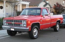 Фото Chevrolet C20 1986