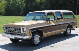 Фото Chevrolet C20 Suburban 1979