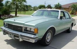 Фото Chevrolet Caprice 1986
