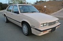 Фото Chevrolet Cavalier 1985