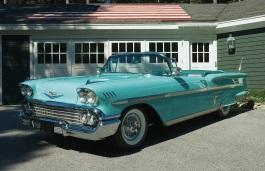 Фото Chevrolet Impala 1958