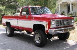 Фото Chevrolet K10 1981