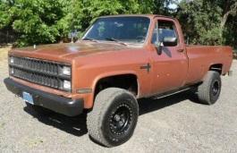 Фото Chevrolet K20 1981