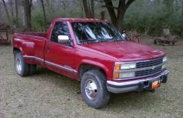 Фото Chevrolet K3500 1992