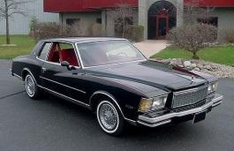 Фото Chevrolet Monte Carlo 1980