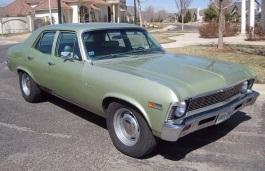 Фото Chevrolet Nova 1972