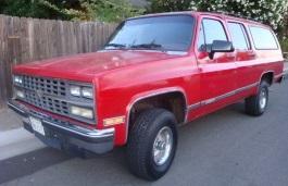 Фото Chevrolet R1500 Suburban 1991