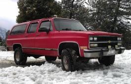 Фото Chevrolet R2500 Suburban 1991
