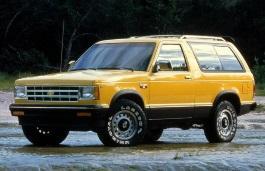 Фото Chevrolet S10 Blazer 1983