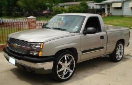 Фото Chevrolet Silverado 1500 2003