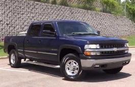 Фото Chevrolet Silverado 1500 HD 2002