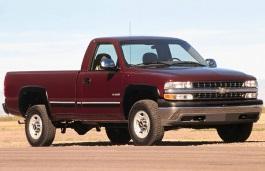 Фото Chevrolet Silverado 2500 2002