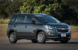 Фото Chevrolet Spin 2012